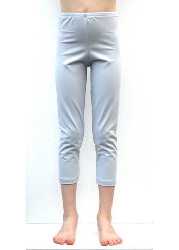 3/4e legging zeer lichtgrijsblauw  Kousen  Leggings