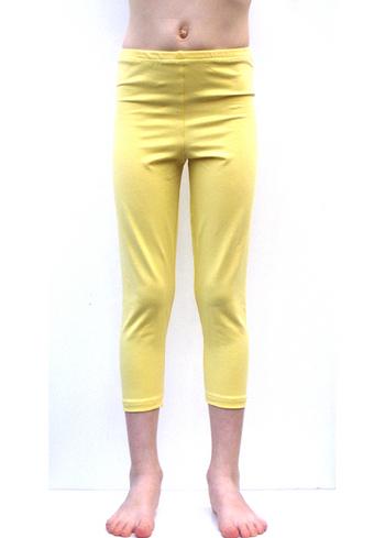 3/4e legging pastel geel  Kousen  Leggings