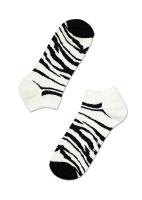 Enkelkousjes/golfsokjes zebra  Kousen  Kousen/sokken