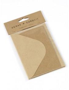 Enveloppe Kit Feeling Kraft  Karton  Kaartjes enzo
