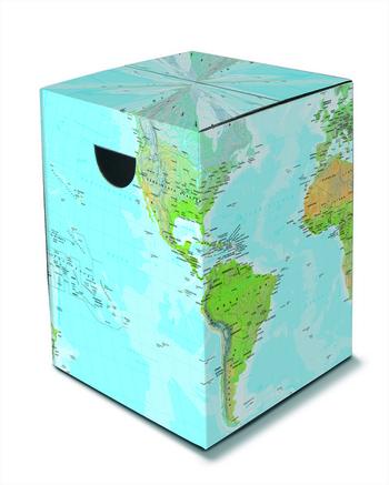Kruk bijzettafel stoeltje wereld online kopen interieurdecoratie kousen karton - Kruk wereld ...
