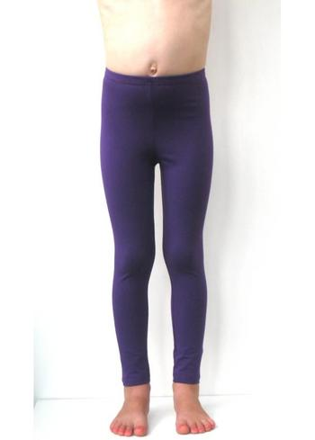 Lange legging paars  Kousen  Leggings