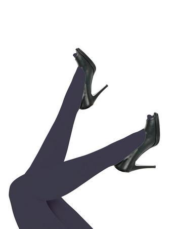 Panty Top Model plus size Blue Opera mat  Kousen  Kousenbroeken