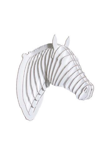 Pippin Horse White large  Karton  Interieurdecoratie