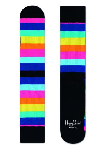 Sokken 'Athletic' stripe regenboog  Kousen  Sportkousen