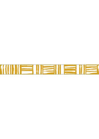washi/masking tape Mustard Brush border  Karton  Masking tape/Washi tape