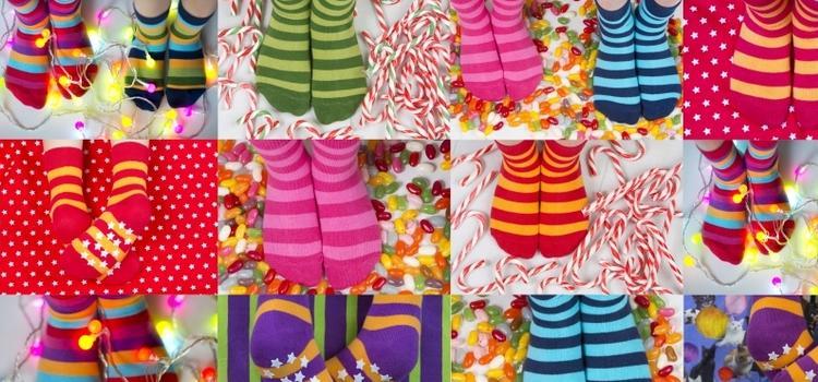 Vrolijke sokken van Maxomorro