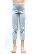 3/4e legging zeer lichtgrijsblauw  Kousen