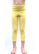 3/4e legging pastel geel  Kousen