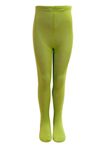 Broekkousen/maillot lime groen  Kousen  Kousenbroeken