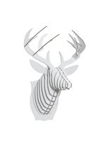 Bucky Deer white large  Karton  Interieurdecoratie