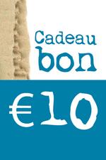 Cadeaubon van € 10  Kousen  Cadeaubonnen
