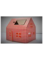 Casagami: Kartonnen huisje/nachtlamje  op zonneergie - Vichy  Karton  Interieurdecoratie