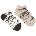 sneakersok/Enkelsok/golfsok duopack Leo Tiger Opal  Kousen  Kousen/sokken