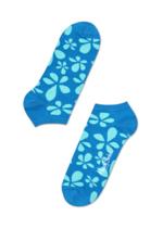 Enkelsok/golfsok Flower Petrol  Kousen  Kousen/sokken