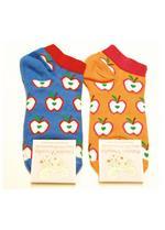 golfsokjes/sneakers appel blauw  Kousen  Kousen/sokken
