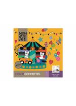 Kleurboek met stickers - C'est la fete  Karton  Speelgoed / creatief