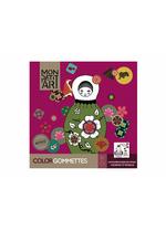 Kleurboek met stickers - Poupees russes  Karton  Speelgoed / creatief