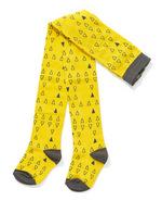 Kousenbroek Futte Yellow Triangle  Kousen