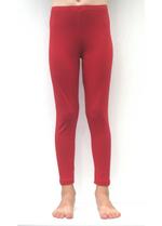 Lange legging winter rood  Kousen  Leggings