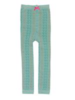 Legging Palm leaf ice blue  Kousen  Kousenbroeken