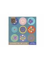luxe stickerboekje Art Deco  Karton  Kaartjes enzo