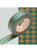 Masking Tape Diamant Groen/Goud 