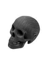 Micro Vince - Small human skull black  Karton  Interieurdecoratie
