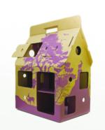 Mobilhome recycle paars  Karton  Speelgoed / creatief