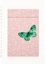 Notaboekje Vlinder  Karton  Kaartjes enzo