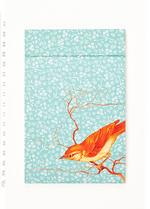 Notaboekje Vogel  Karton