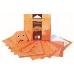 Origami oranje  Karton  Speelgoed / creatief