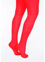 Panty/kousenbroek rood  Kousen  Kousenbroeken