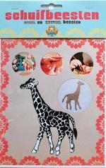 Schuifbeest Giraffe  Karton  Speelgoed / creatief