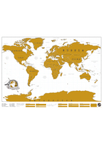 Scratch Map  Karton  Kaartjes enzo