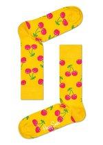 Sokken Cherry geel  Kousen  Kousen/sokken