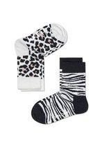 Sokken duo pack Animal black/white  Kousen  Kousen/sokken
