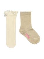 Sokken duopack Lace resort off white sparkle  Kousen  Kousen/sokken