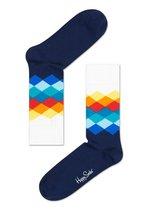 Sokken Faded Diamond White  Kousen  Kousen/sokken
