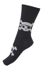 Sokken Glow in the dark Pirate black  Kousen  Kousen/sokken