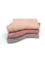 Korte sokken LuLu Glitter Cameo Rose (zalm)  Kousen  Kousen/sokken