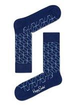 Sokken Optic marine/heel licht blauw  Kousen  Kousen/sokken