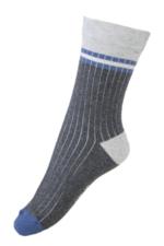 Sokken Rib Structure Dark grey  Kousen  Kousen/sokken