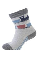 Sokken Train grey melange  Kousen  Kousen/sokken