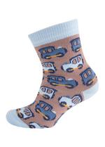 Sokken Trein bruin  Kousen  Kousen/sokken