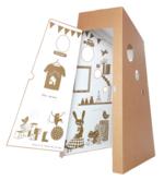 Super kartonnen huisje 'Ma Cabane'  Karton  Speelgoed / creatief