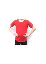 T-shirt rood  Kousen