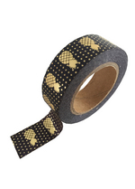 washi/masking tape Black gold foil pineappel  Karton  Masking tape/Washi tape