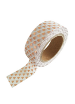 washi/masking tape Copper foil triangel  Karton  Masking tape/Washi tape