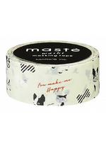 washi/masking tape French bulldog  Karton  Masking tape/Washi tape